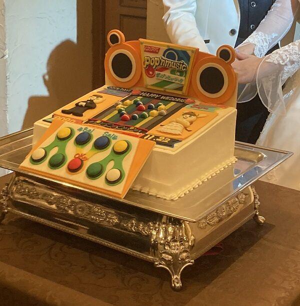 音ゲー結婚式ウエディングケーキに関連した画像-02