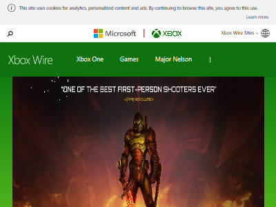 XboxOne DOOM ゲームパス ベセスダに関連した画像-02