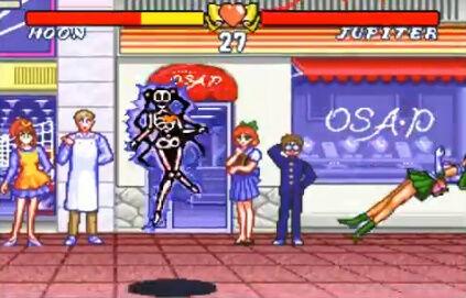 セーラームーン SFC 格ゲー 場外乱闘 主役争奪戦 超必殺技に関連した画像-07