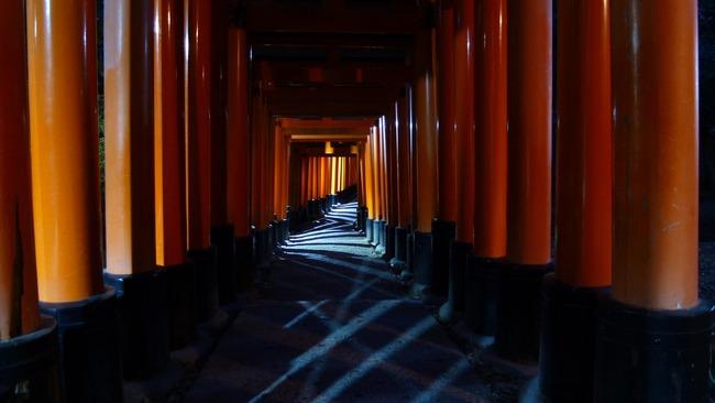 心霊写真 伏見稲荷大社 撮影 ホラーに関連した画像-05