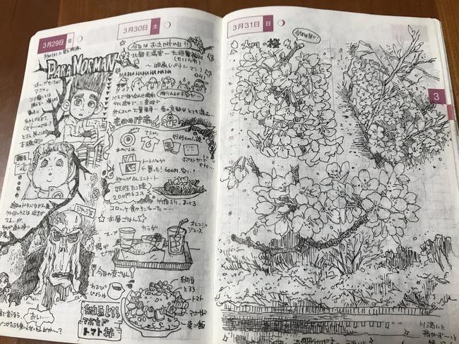 ツイッター ほぼ日手帳 ラクガキ クオリティ プロに関連した画像-02