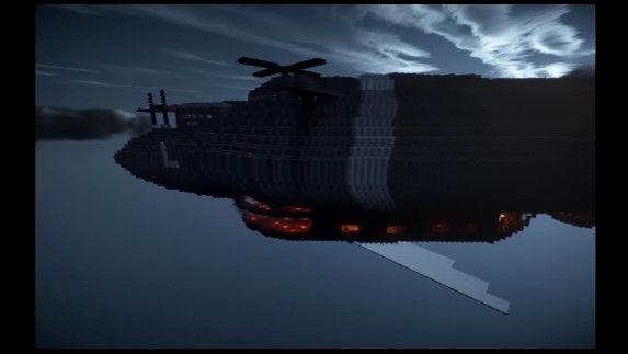 天空の城ラピュタ マインクラフト マイクラ 職人 完全再現に関連した画像-03
