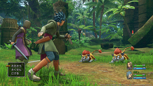 ドラゴンクエスト11 ドラクエ11 PS4 3DS バージョン 特徴 比較 違いに関連した画像-04