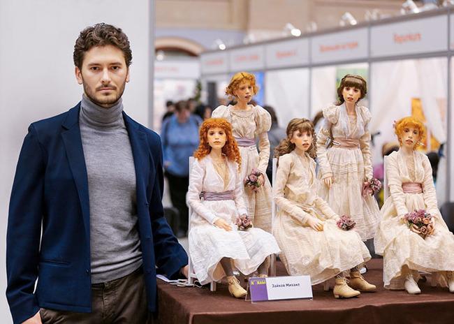 ロシア ドール リアル 人形に関連した画像-08