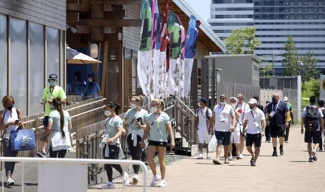 東京五輪 選手村 日本人女性スタッフ 海外選手 ナンパ お持ち帰り 密会に関連した画像-01