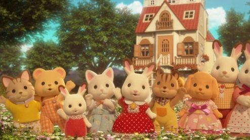 シルバニアファミリー TVアニメ化 地上波 放送開始 人形に関連した画像-01