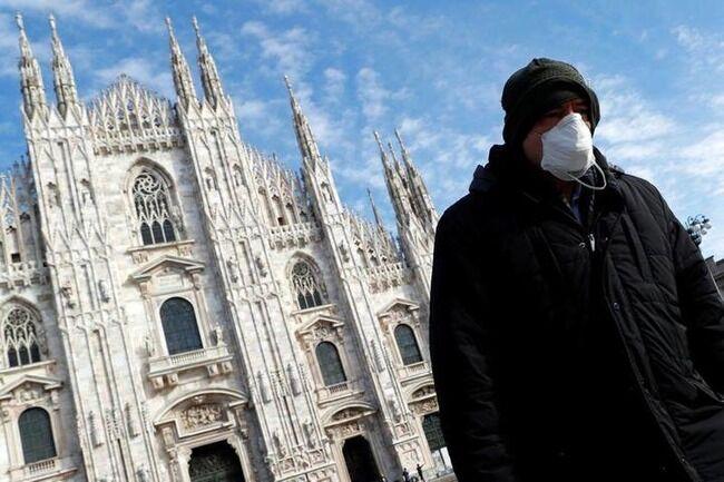 イタリア 薬局 食料店 新型コロナウイルスに関連した画像-01
