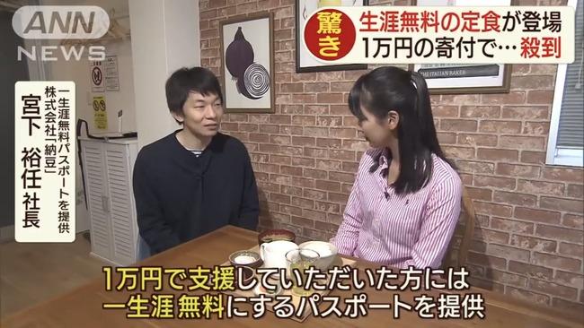 令和納豆 クラウドファンディング 1万円 食べ放題パス 没収に関連した画像-01