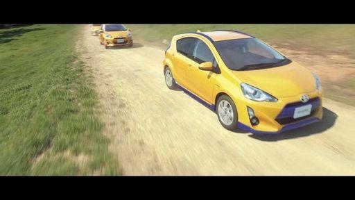 トヨタ アクア AQUA 自動車 車 CM ファイナルファンタジー FFに関連した画像-04