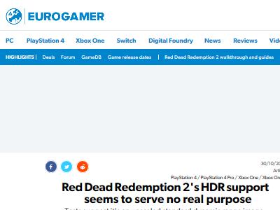 レッド・デッド・リデンプション2 RSR2 フェイク HDRに関連した画像-02