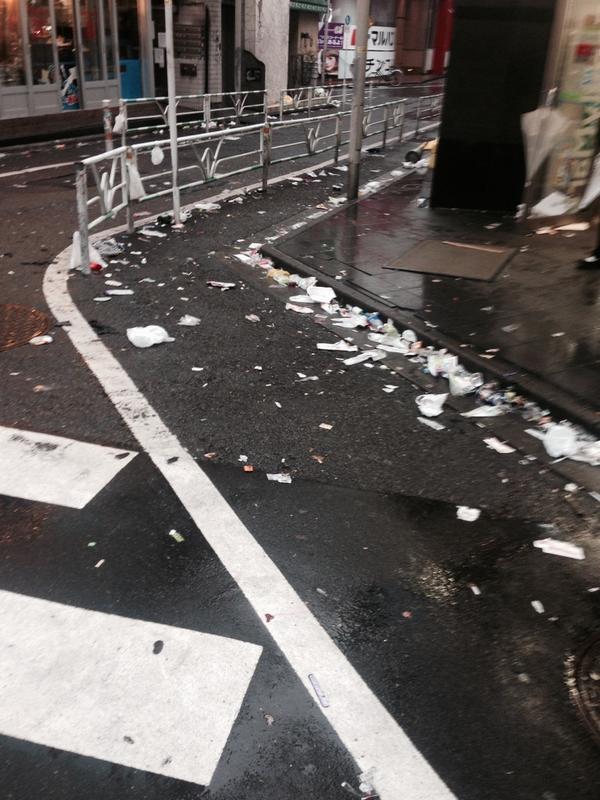 ハロウィン 渋谷 ゴミに関連した画像-08