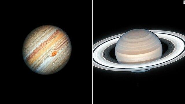 木星 土星 二重惑星 コンジャンクション 宇宙に関連した画像-01