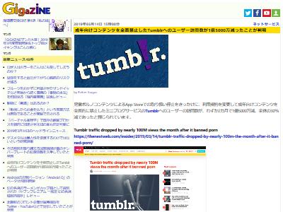 Tumblrアクセス激減成年向けに関連した画像-02