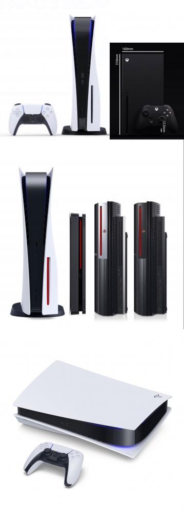 PS5 サイズ 比較 デカイに関連した画像-04