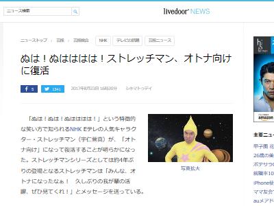 NHK ストレッチマン 復活 大人向けに関連した画像-02