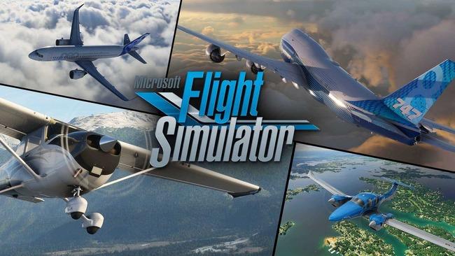 マイクロソフト フライトシミュレーター ディスク枚数 10枚 ゲーム史上最多に関連した画像-01