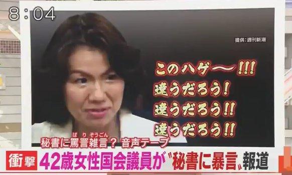 豊田真由子 赤ちゃん言葉 罵倒 動画 公開 秘書 あるんでちゅか?に関連した画像-01