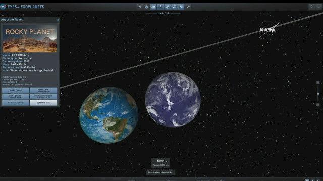 NASA 発表 地球に似た惑星に関連した画像-04