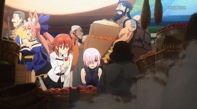 FGO TVCM A1 オリジナルアニメ Fate グランドオーダー 1400万ダウンロード記念に関連した画像-05