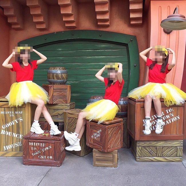 インスタ映え ディズニー 木箱 トゥーンタウンに関連した画像-04