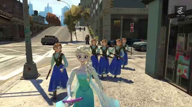 アナと雪の女王に関連した画像-03