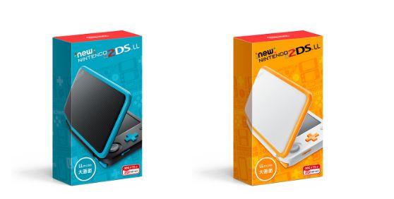 『Newニンテンドー2DS LL』 7月13日発売決定! 折りたたみ可能でお値段14980円!