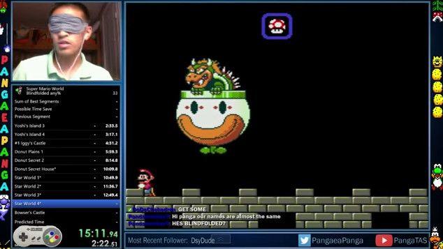 スーパーマリオワールド 目隠し 動画 スーパーファミコン スーパープレイ 海外 YouTube 任天堂に関連した画像-01