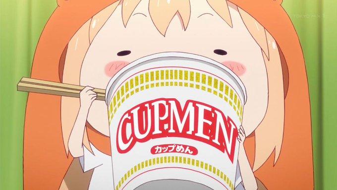 カップ麺 うまるちゃん 干物妹 飯テロ 収録に関連した画像-01
