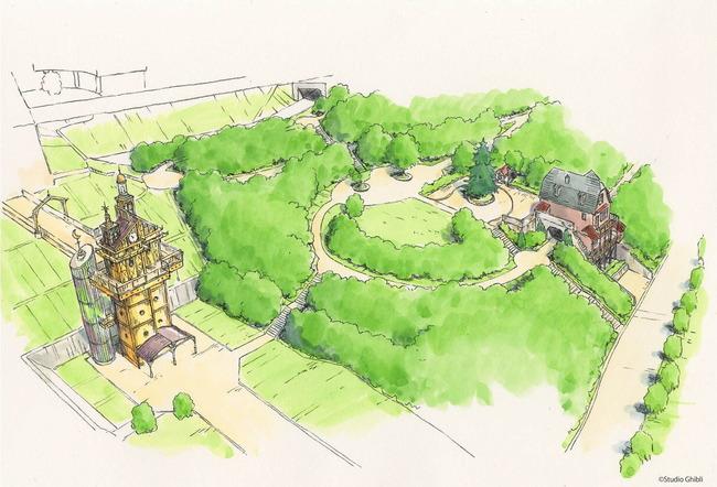 ジブリパーク 愛知 開業 ハウルの城 タタラ場に関連した画像-06