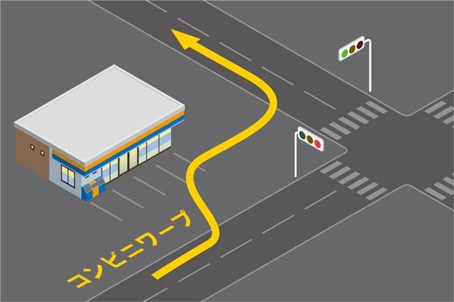 コンビニワープ ショートカット 車に関連した画像-03