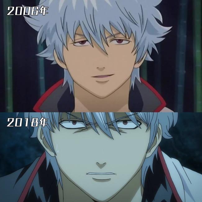 アニメ 作画 進歩 同じキャラ キャラクター  に関連した画像-04
