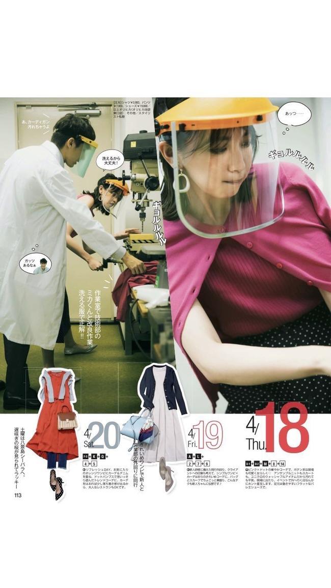 現場系女子服装危険ファッション誌に関連した画像-02