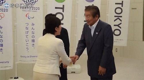 小池百合子 自民都連 議長 握手拒否 捏造 マスコミ TBS ひるおびに関連した画像-04