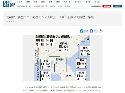 北朝鮮新型コロナ死者隠蔽に関連した画像-02