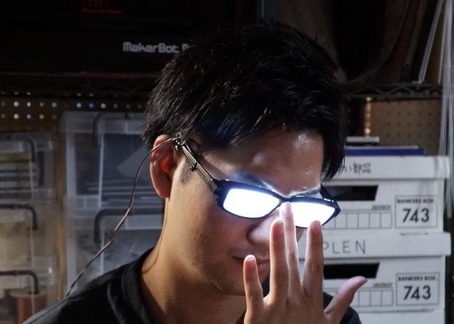 メガネ 光る メガネキャラ LED 自作に関連した画像-05