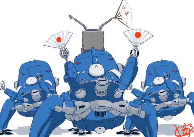 攻殻機動隊 タチコマ 再現に関連した画像-01