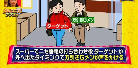 仰天ハプニング フジテレビ ドッキリ 万引き 冤罪 炎上 的場浩司に関連した画像-04