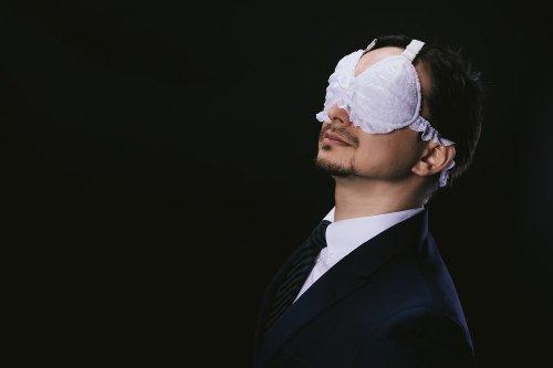 紳士用 ブラジャー アイマスク 爆誕 ヴィレッジヴァンガードに関連した画像-01