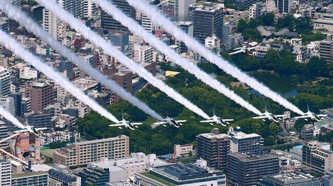 ブルーインパルス 飛行費 批判に関連した画像-01