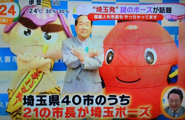 埼玉 ダサイタマ 埼玉ポーズ 普及 脱ダサイタマに関連した画像-07