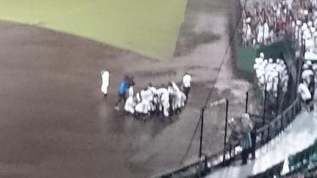 浦添商業 高校野球 コールドゲーム 降雨 抗議に関連した画像-06