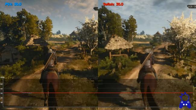 ウィッチャー3スイッチ版比較に関連した画像-20