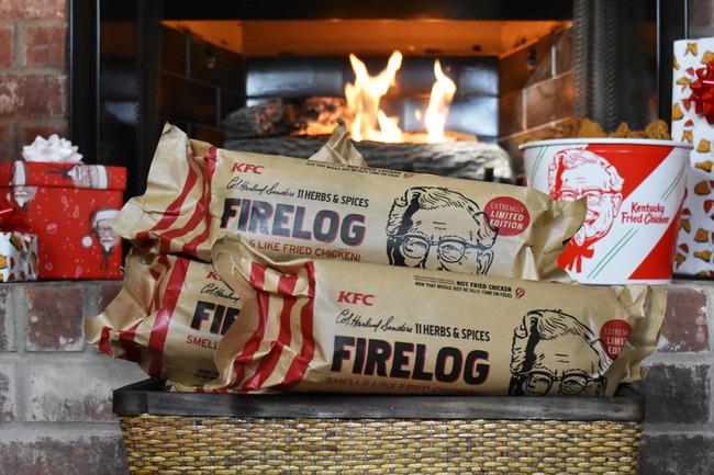 ケンタッキー フライドチキンの香り 薪に関連した画像-01