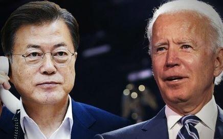 韓国 バイデン大統領 電話会談 アメリカ 菅首相に関連した画像-01