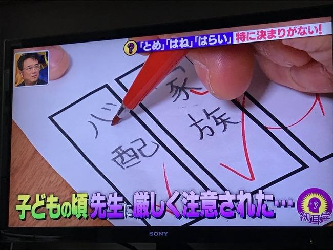 漢字 とめ はね はらい 特に決まりがない 減点に関連した画像-02