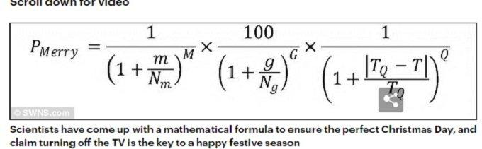 クリスマス 数学者 公式 ルールに関連した画像-03