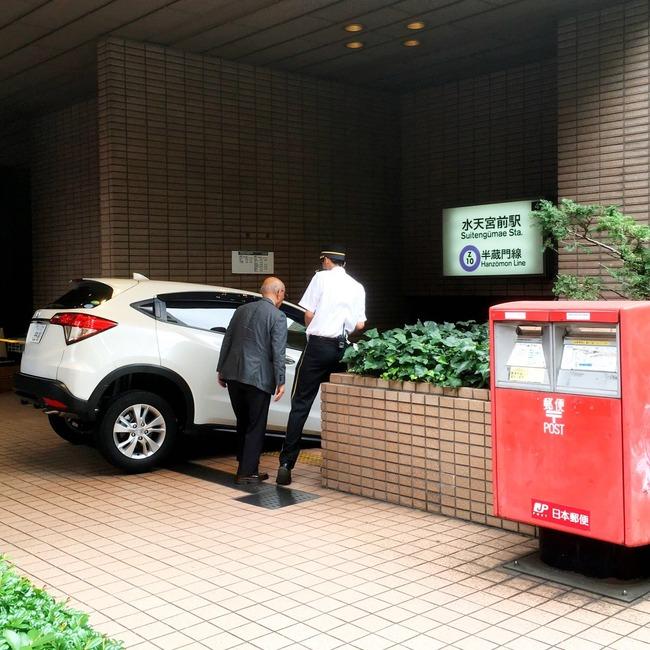 車 86歳 進入 東京メトロ 水天宮前駅 地下駐車場に関連した画像-03