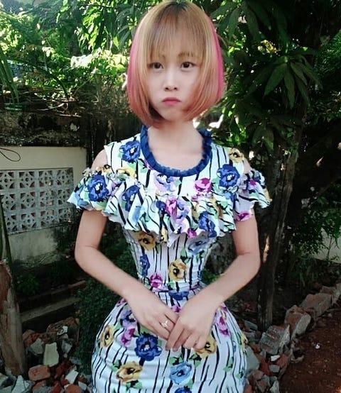 ミャンマー 美女 胴囲 遺伝 食生活に関連した画像-04