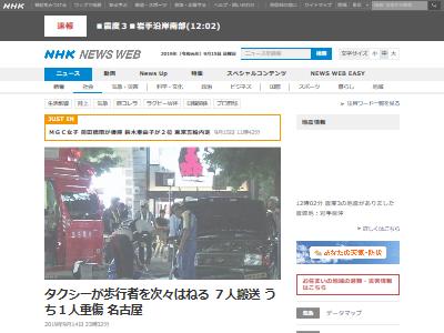 名古屋タクシー歩道高齢ドライバーに関連した画像-02