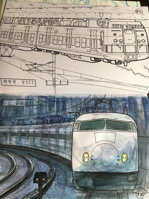 画家 日本人 塗り絵 水彩画に関連した画像-02
